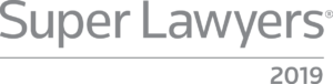 Super Lawyers Badge 2019